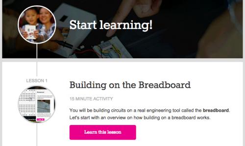 Learn with EEME's Virtual Breadboard