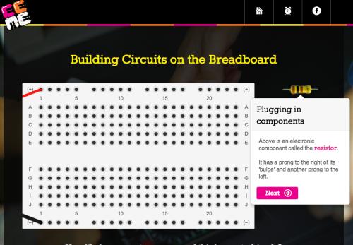 Virtual Breadboard Screenshot