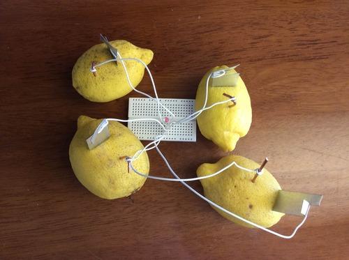 Lemon Battery Completed